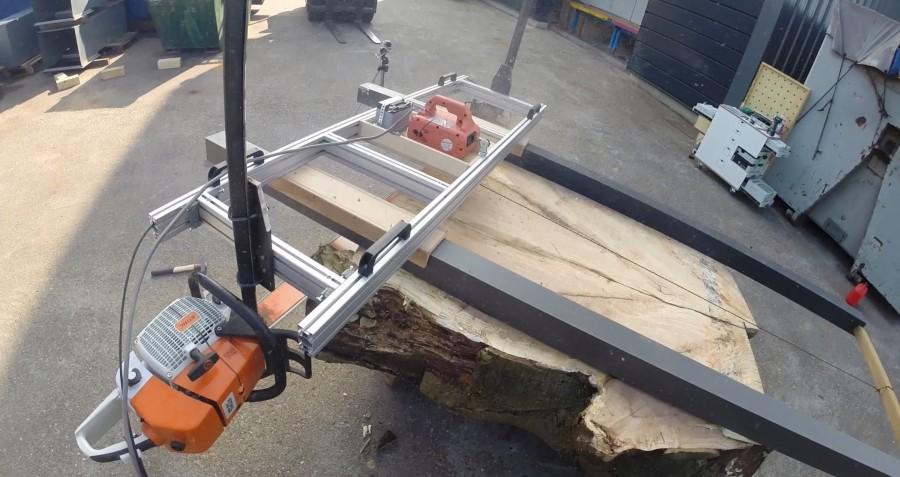 Как из бензопилы сделать самодельную пилораму — инструкция по сборке своими руками
