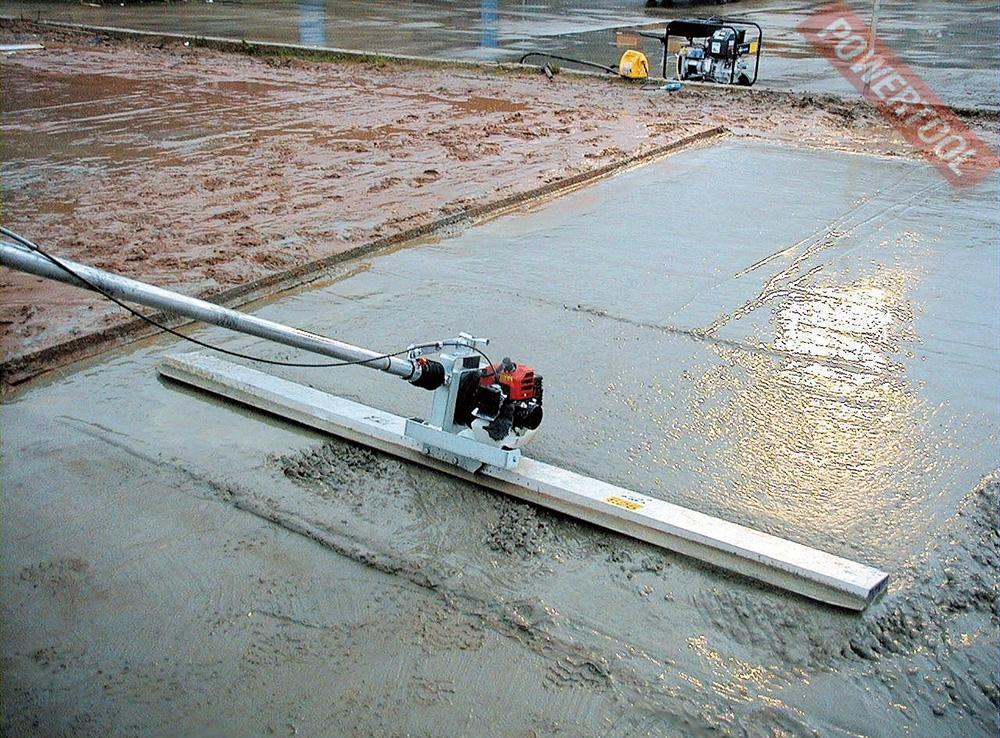 Разновидности виброреек для укладки бетонной смеси