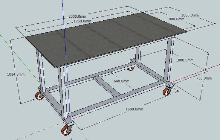 Сварочный стол своими руками: почему лучше использовать профильную трубу, какие нужны чертежи, важные шаги в изготовлении столика для сварочных работ