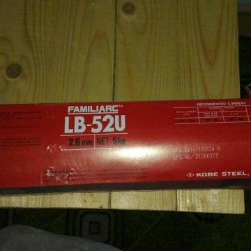 Сварочные электроды kobelco lb 52u - kobe steel (япония)   электроды сварочные lb-52u (лб-52у)