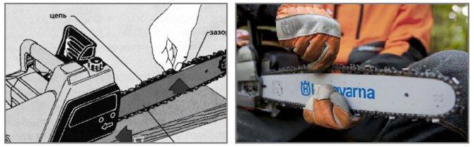 Как правильно натянуть цепь на электропиле макита. как натянуть цепь на бензопиле: установка и правильная работа. как правильно одеть цепь на электропилу – подробный алгоритм