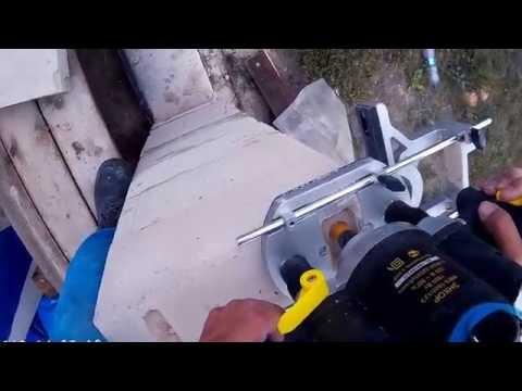 Схема изготовления своими руками качественного штробореза из болгарки