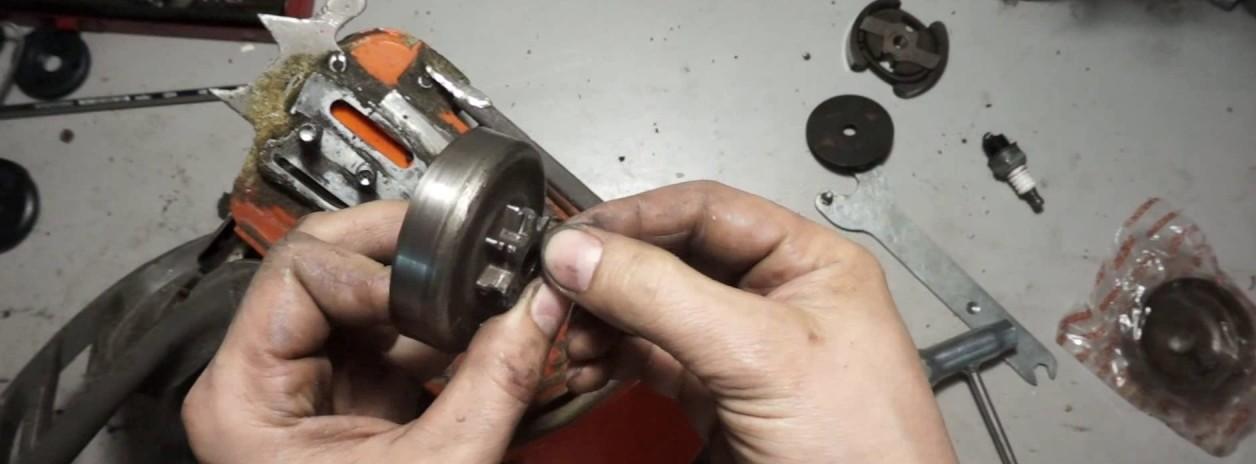 Звездочка бензопилы: предназначение, устройство, поломки и замена