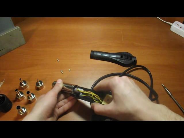 Особенности изготовления паяльного фена своими руками
