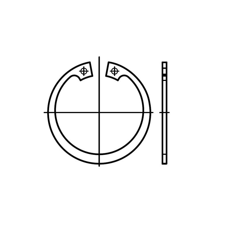 Как снять стопорное кольцо: технология и инструмент