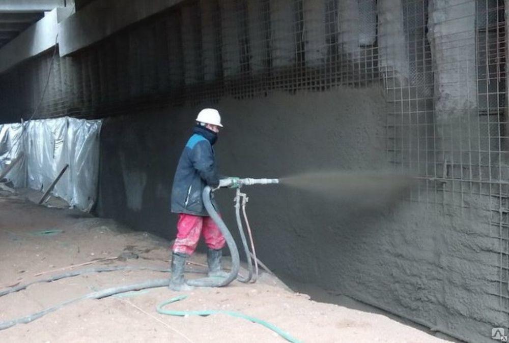 Торкретирование или набрызг-бетон: технология процесса — викистрой