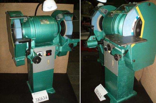 Точильно-шлифовальный станок 3к634. устройство и характеристики станка 3к634