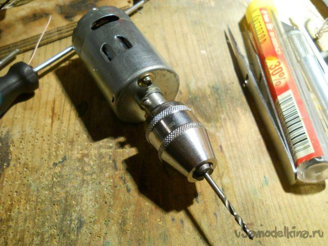 Как сделать мини дрель из двигателя старого принтера