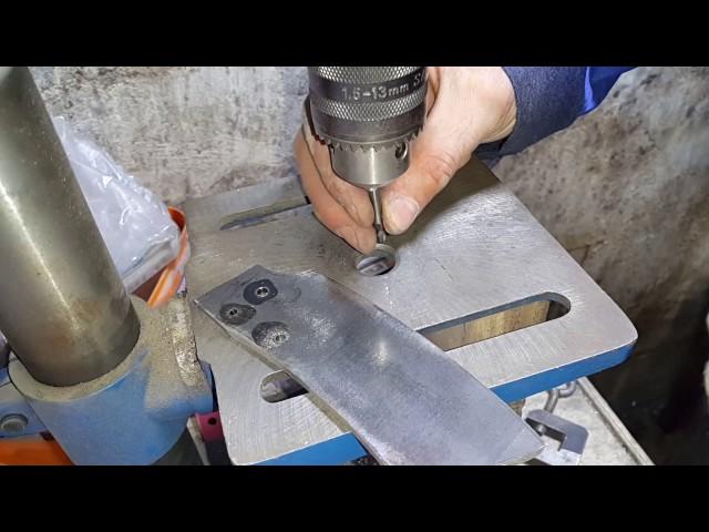 Как просверлить каленый металл в домашних условиях