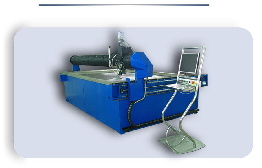 Установка гидроабразивной резки металла водой под давлением с чпу