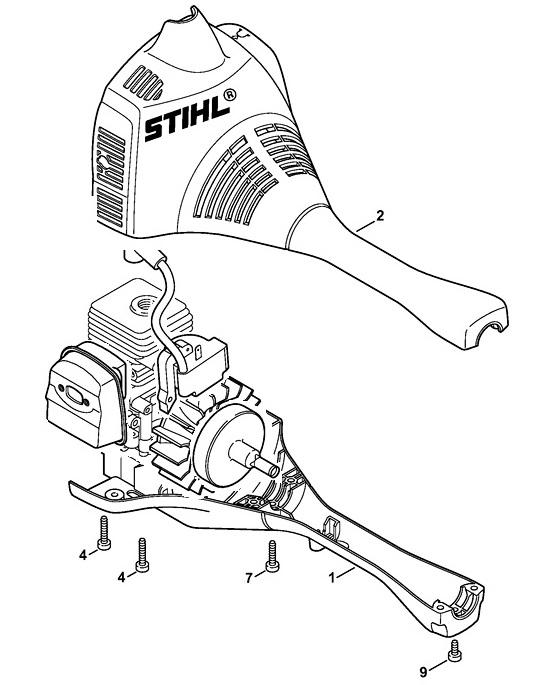 Косилка штиль фс-38 и 55 (stihl fs) - инструкция по эксплуатации, ремонт своими руками, как снять катушку с триммера и завести бензокосу