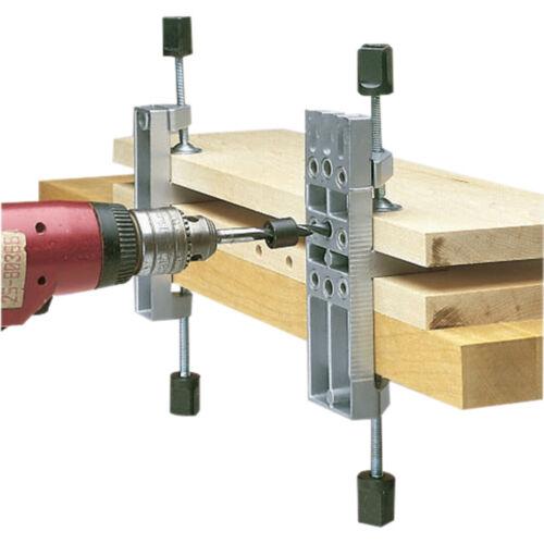 Кондукторы для сверления отверстий под шканты: виды кондукторов для мебельных шкантов, сферы их использования