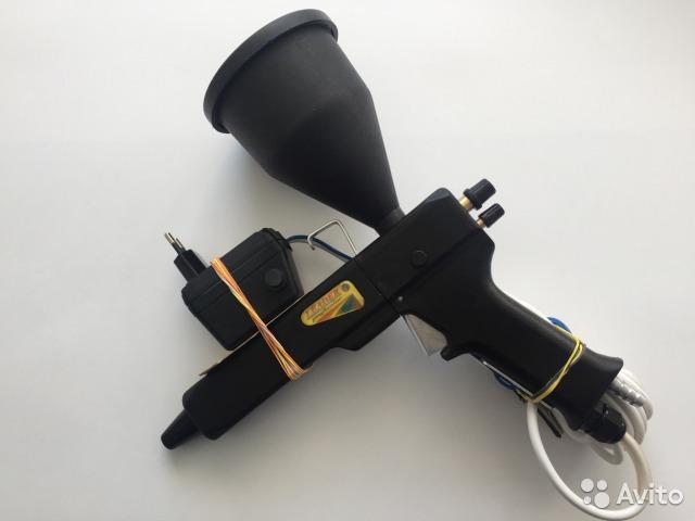 Пистолет для порошковой покраски: типы и устройство