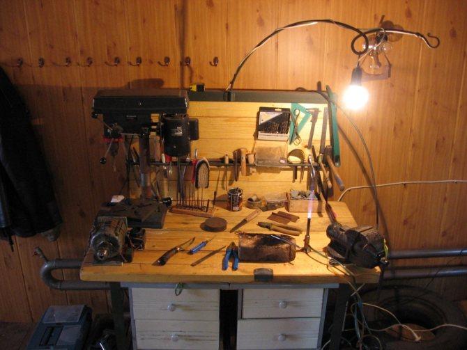 Как устроить мастерскую в гараже: тонкости и основные аспекты реализации