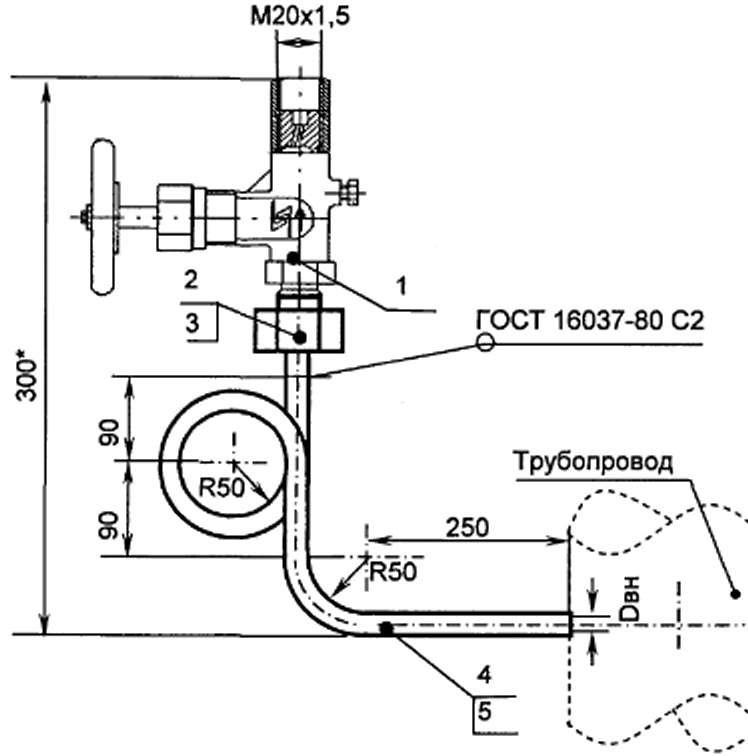 Как установить манометр для измерения давления воды на водопровод