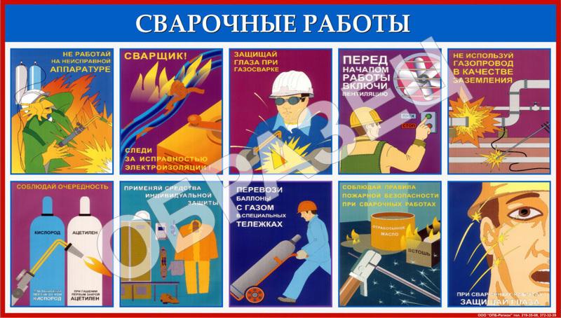 Правила пожарной безопасности при выполнении сварочных работ