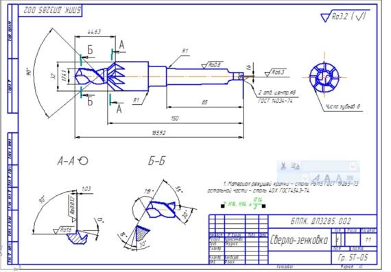 Цековка – инструмент для идеально точных отверстий