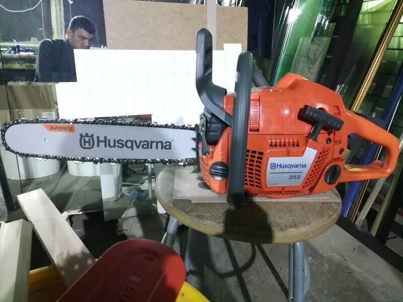 Хускварна 61 — профессиональная бензопила на не полный рабочий день