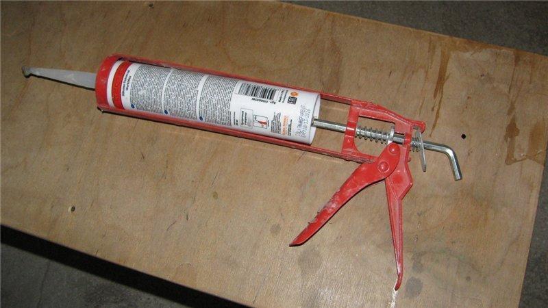 Можно ли использовать герметик без пистолета?