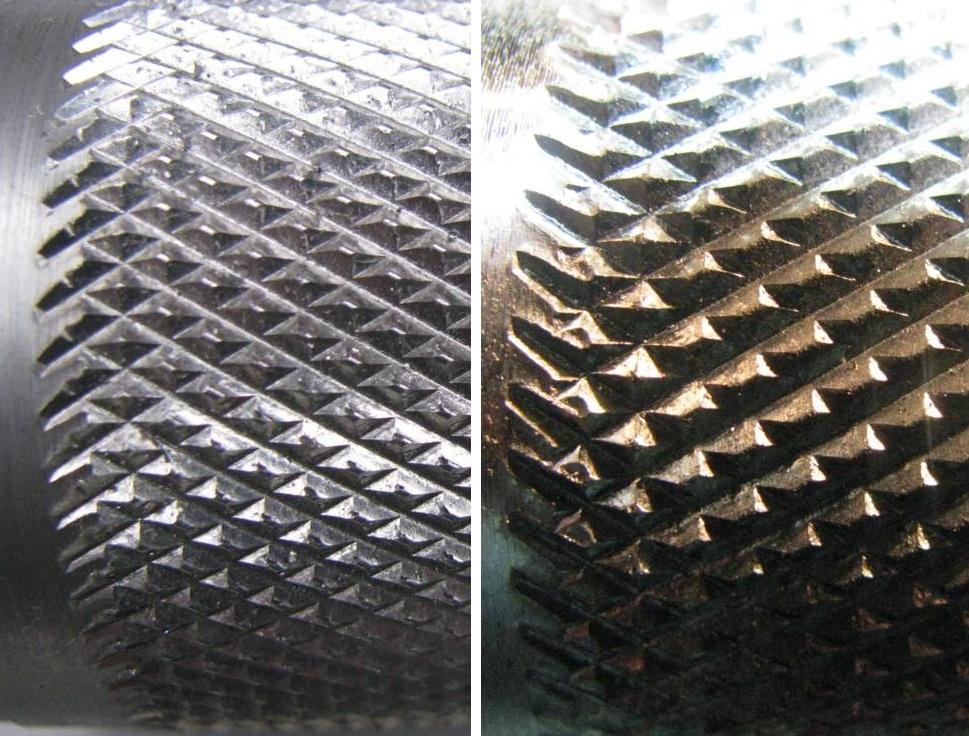 Ролики для накатки прямых и сетчатых рифлений, размер 20*9*8