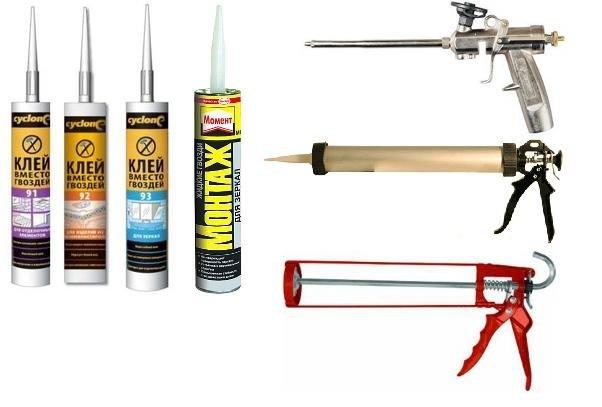 Использование пистолета для жидких гвоздей. как пользоваться клеем жидкие гвозди с монтажным пистолетом и без р от бога клеевой монтажный пистолет как пользоваться
