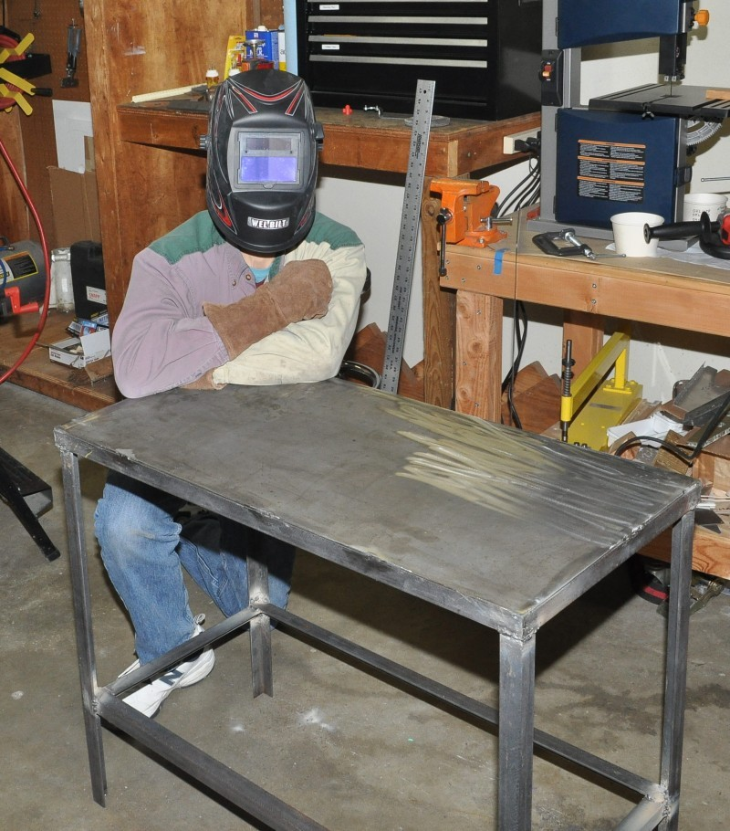 Сварочный стол своими руками, чертеж, инструменты, пошаговое описание
