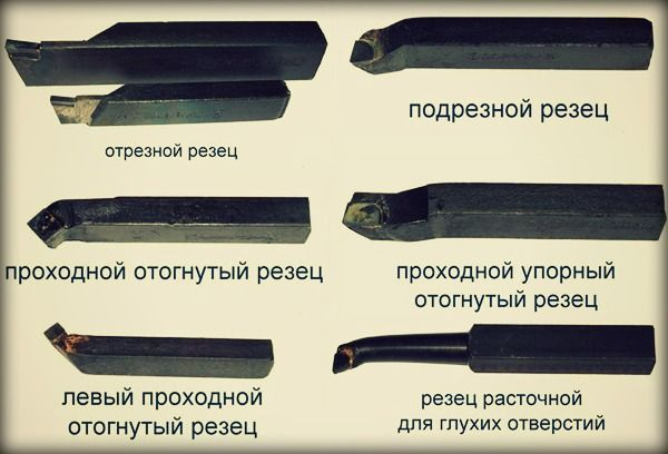 Резец для токарного станка по металлу, какие бывают: виды (типы), маркировка, обозначение, назначение, классификация