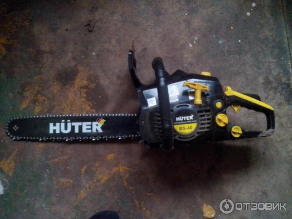 Бензопила huter bs-40. технические характеристики. отзывы владельцев