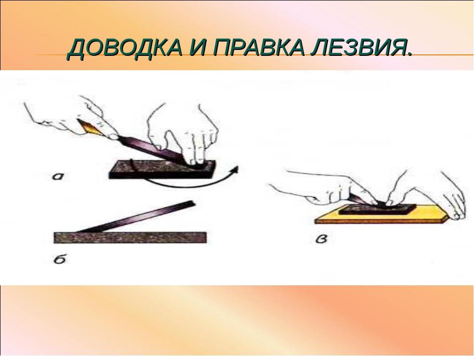 Притирка. притирочные инструменты и материалы.