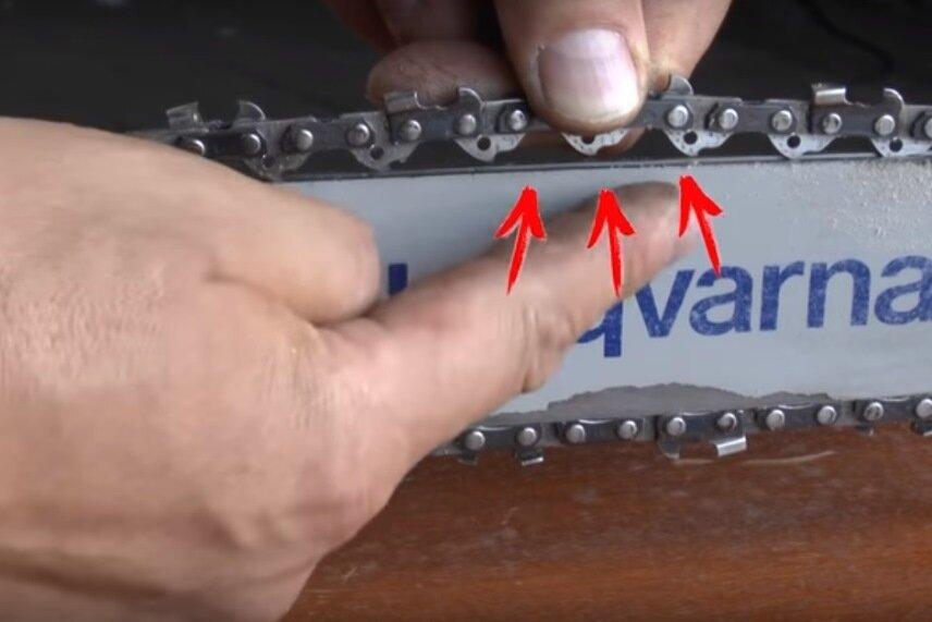 Как натянуть, заменить или укоротить цепь на бензопилах хускварна, штиль, макита и других