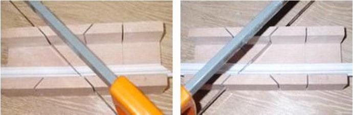 Потолочный плинтус как сделать угол