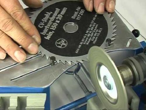 Что нужно знать при заточке дисковых пил с твердосплавными напайками