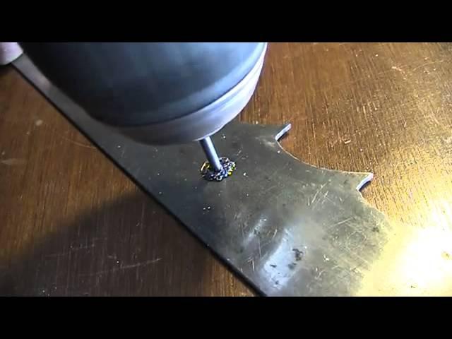 Как просверлить каленый металл в домашних условиях?