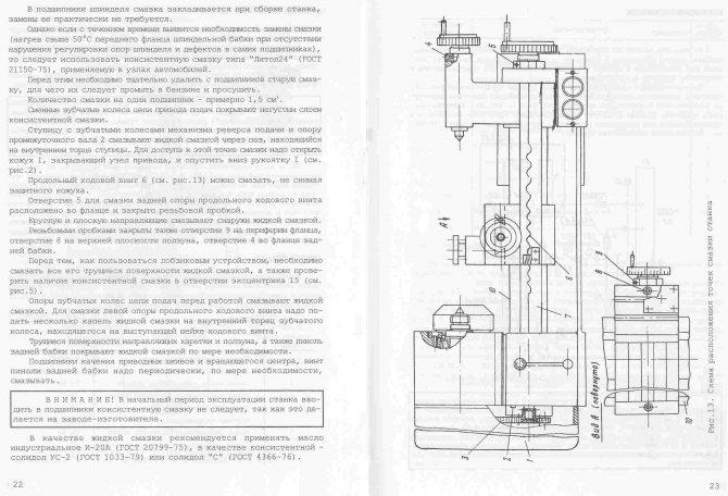 Токарные станки универсал 2 и универсал 3 устройство, характеристики