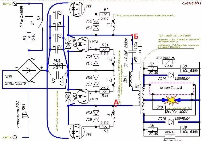 Характеристики и особенности работы сварочного инвертора