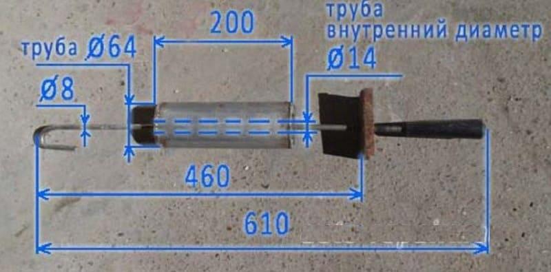 Обратный молоток для кузовного ремонта своими руками, как сделать обратный молоток.