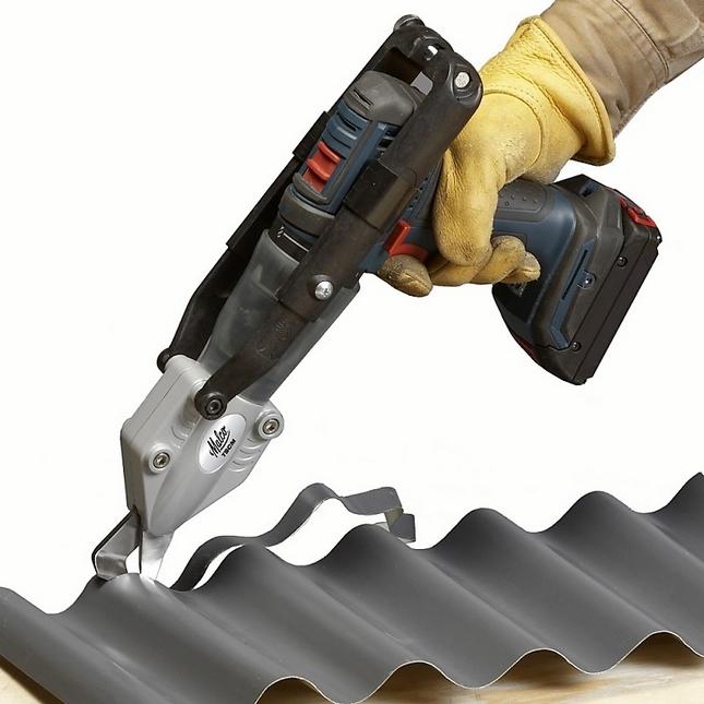 Чем резать металлочерепицу: какой инструмент нужен для резки: диски, электроножницы, насадка на дрель, можно ли резать болгаркой