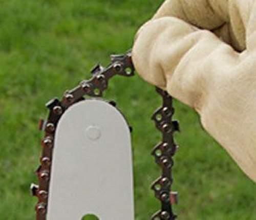 Правильное натяжение цепи бензопилы: установка или замена