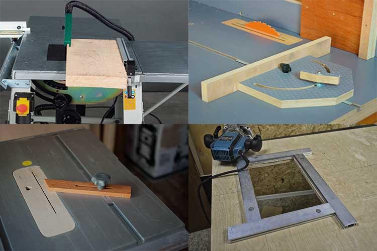 Самодельное приспособление для точного раскроя досок ручной циркулярной пилой