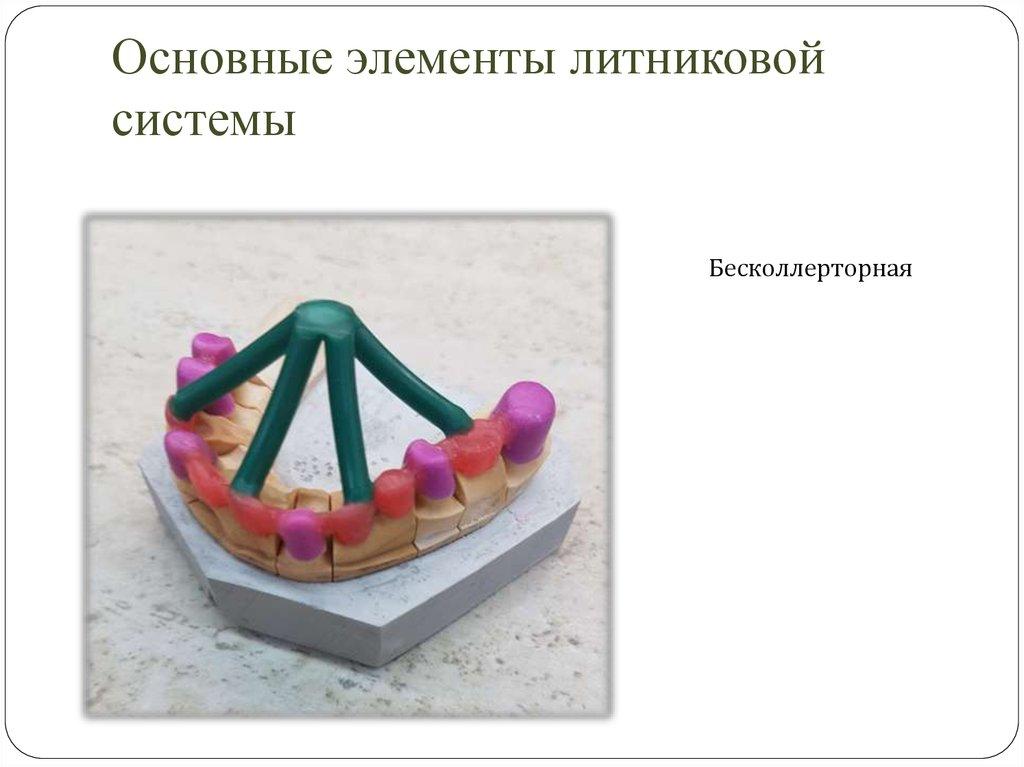 § 1. литейная  форма и ее основные элементы