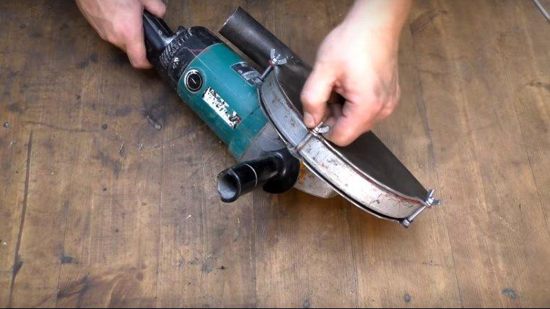 Кожух для болгарки под пылесос: применение пылесоса, оснастка, способы изготовление своими руками
