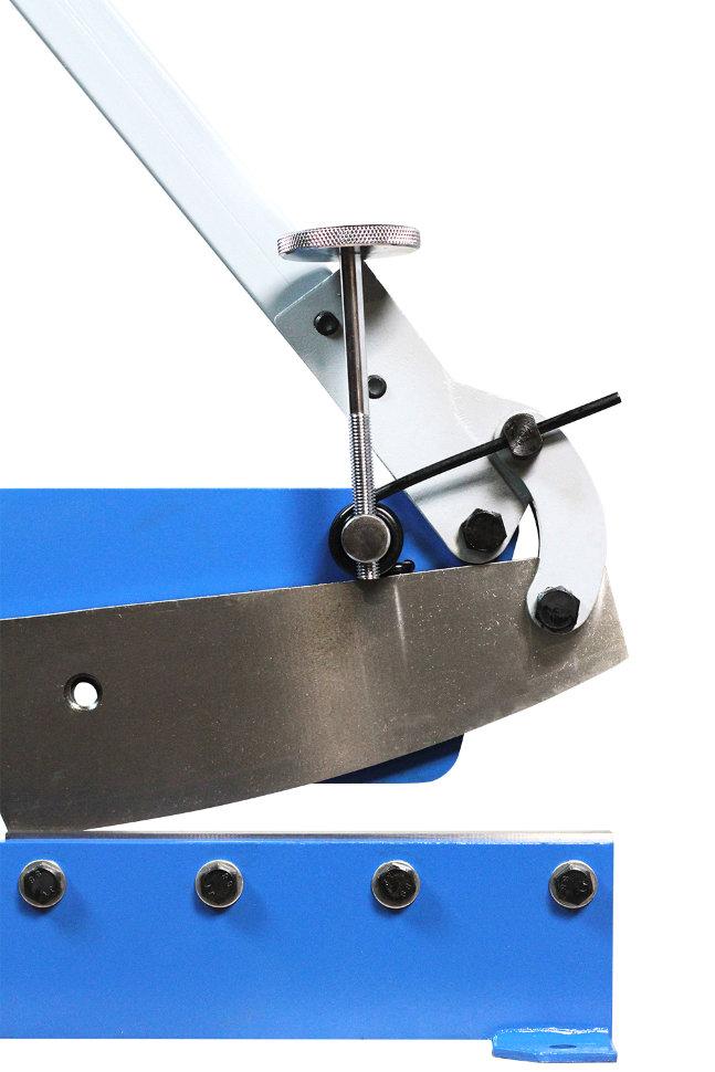 Правила выбора и эксплуатации рычажных ножниц по металлу