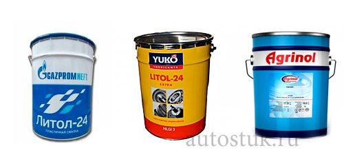 Литол 24: литиевое мыло, характеристики и применение в быту