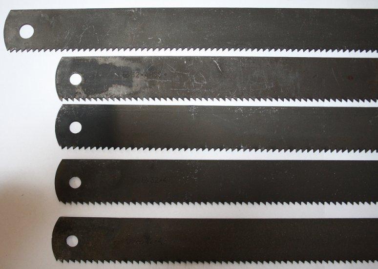 Ножовочное полотно по металлу — виды, конструкция, выбор