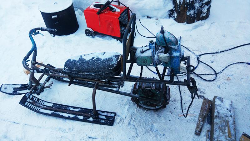 Снегоход из бензопилы своими руками — инструкция как сделать из различных бензопил