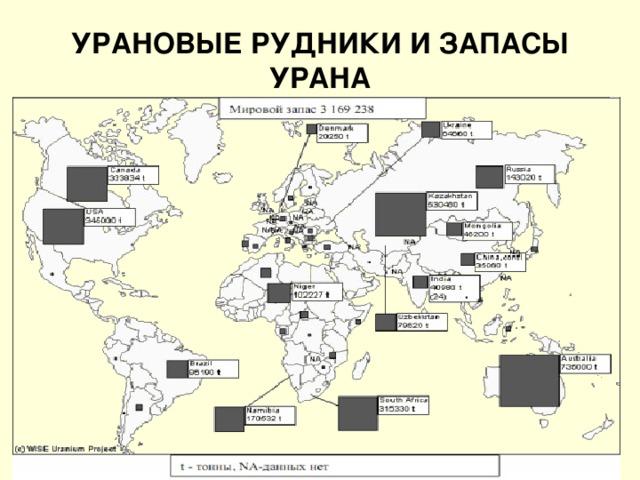 Урановые рудники ссср — miningwiki — шахтёрская энциклопедия