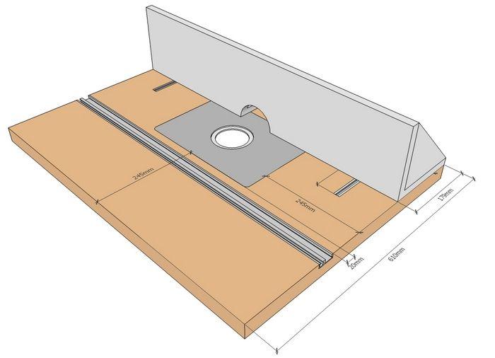 Как сделать стол для ручного фрезера своими руками по чертежам и видео