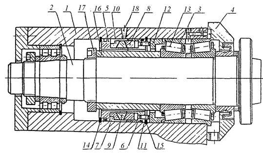 Шпиндель сверлильного станка чертеж. шпиндельный узел станка