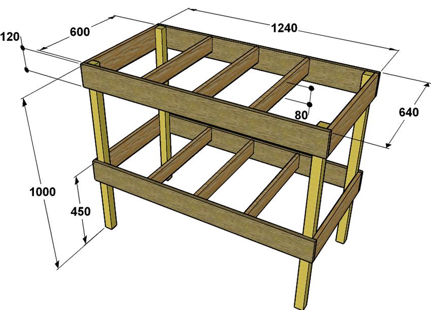 Верстак в гараж: варианты верстаков, как сделать своими руками