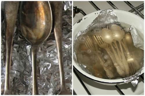 Как очистить мельхиоровую посуду в домашних условиях